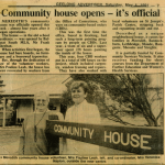 Opening press clipping